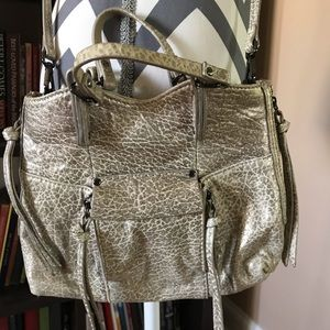 Kooba Gold Soft Leather Crossbody Bag
